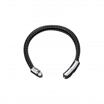 Collier double médaille en argent gravée