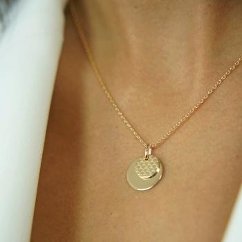 Bracelet cordon médaille...