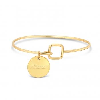 Collier petite médaille et son pendentif petit soleil plaqué or