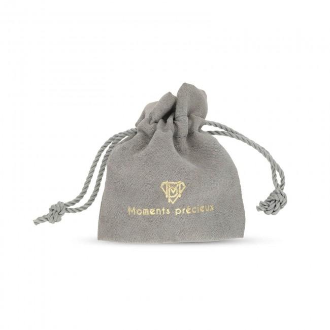 Bracelet homme personnalisé en cuir noir tressé