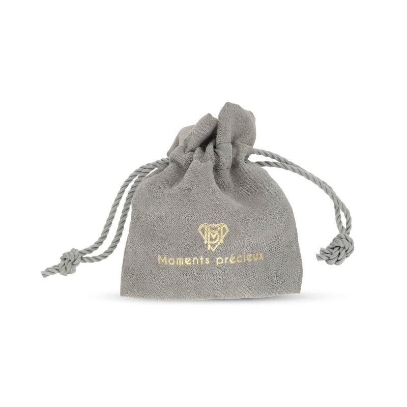 Collier anneau personnalisé Argent