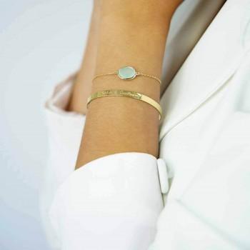 Collier médaille et pendentif cœur personnalisé
